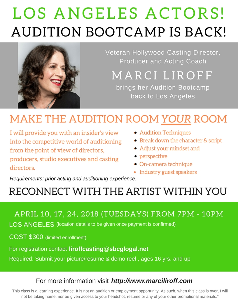 Audition Bootcamp
